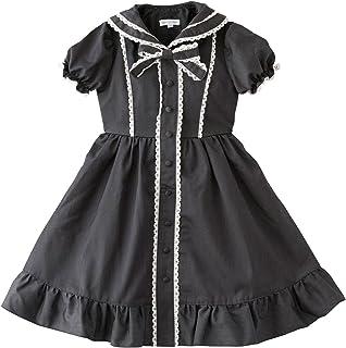 (キャサリンコテージ) Catherine Cottage子供服 PC544OP 女の子 くるみボタンのセーラーワンピース