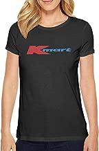 Unicorns Farting Womens Short Sleeve Kmart-Market-Logo- Sport T-Shirt Crew Neck Lightweight Casual Running Shirt