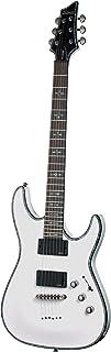 Best Schecter Hellraiser C-1 Electric Guitar (Gloss White) Review