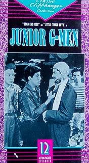 Junior G-Men VHS