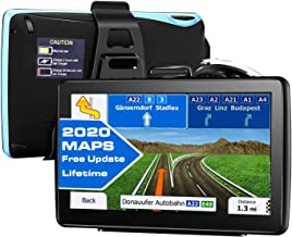 $60 » GPS Navigation for car All Type of Vehicles,e.g Cars,Trucks,Motorhome etc,7 inch Large-Size Screen with Sun Shielding Frame 8GB&256MB,Voice Turn- to-Turn Traffic Indication,Lifetime Free Map Updates