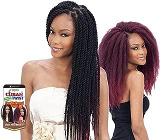 Freetress Equal Synthetic Hair Braids Havana Twist Style Cuban Twist 16