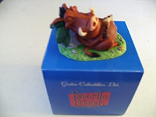 Grolier Collectibles Favotite Friends Figurines Naptime Pumbaa & Timon
