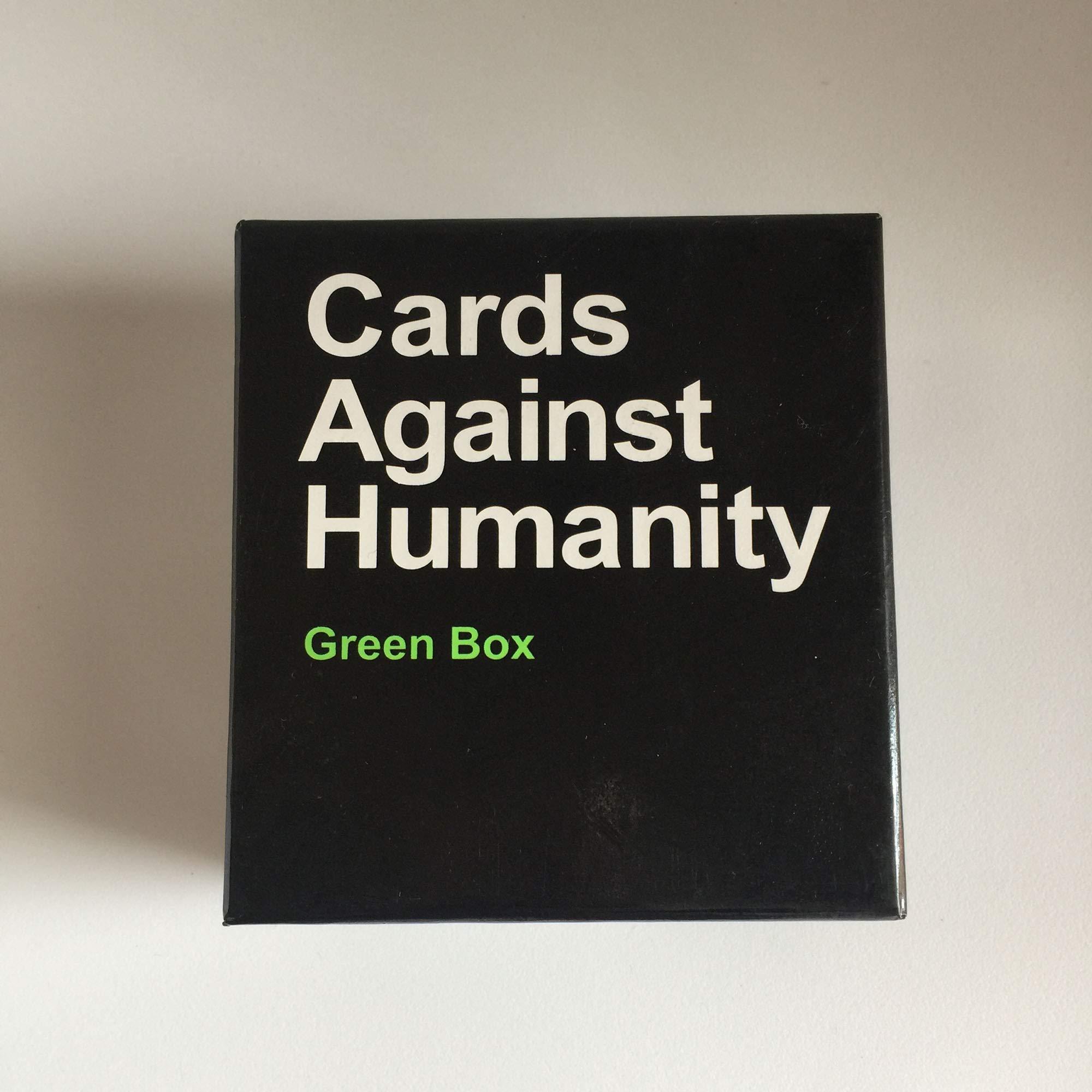 LETU Juegos de Cartas para Adultos/A Cards Against Humanity: Green ...