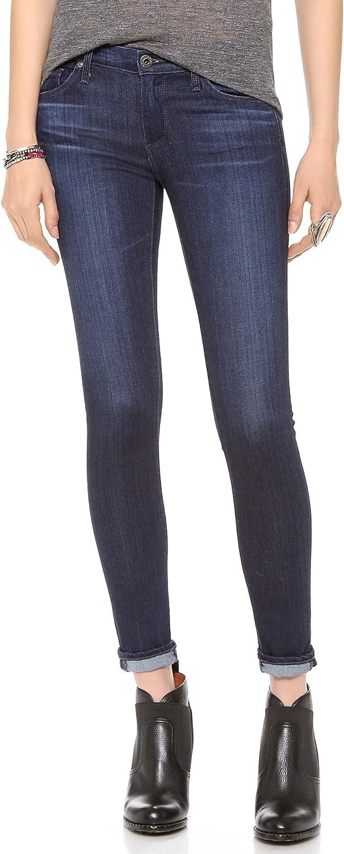 AG Adriano Goldschmied Women's Legging Ankle Jean In Coal Grey