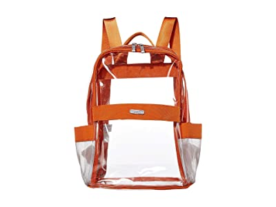 Baggallini Clear Event Compliant Medium Backpack (Orange) Backpack Bags