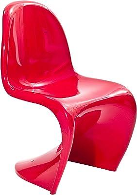 Modway Mini Panton Chair in Black