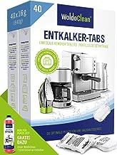 Entkalkungstabletten für Kaffeevollautomaten & Kaffeemaschine – 40x 16g Tabs kompatibel mit sämtlichen Herstellern