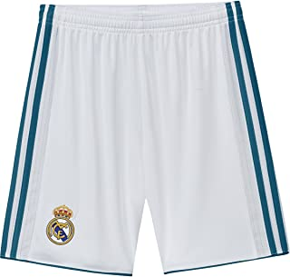 adidas Youth Real Madrid Home Soccer Stadium Shorts