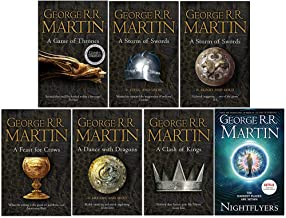 A Song of Ice and Fire Series & Nightflyers 7 Books Collection Set By George R.R. Martin (A Game of Thrones, Steel and Sno...