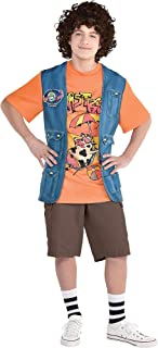 Dustin Roast Beef Costume Halloween Accessory Kit for Boys, Stranger Things, One Size Fits Most, 2 Pieces