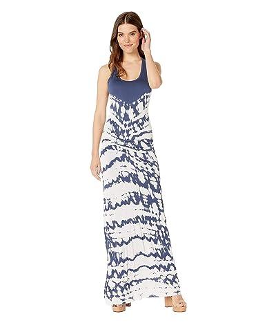Young Fabulous & Broke Hamptons Maxi (Deep Blue Croc) Women