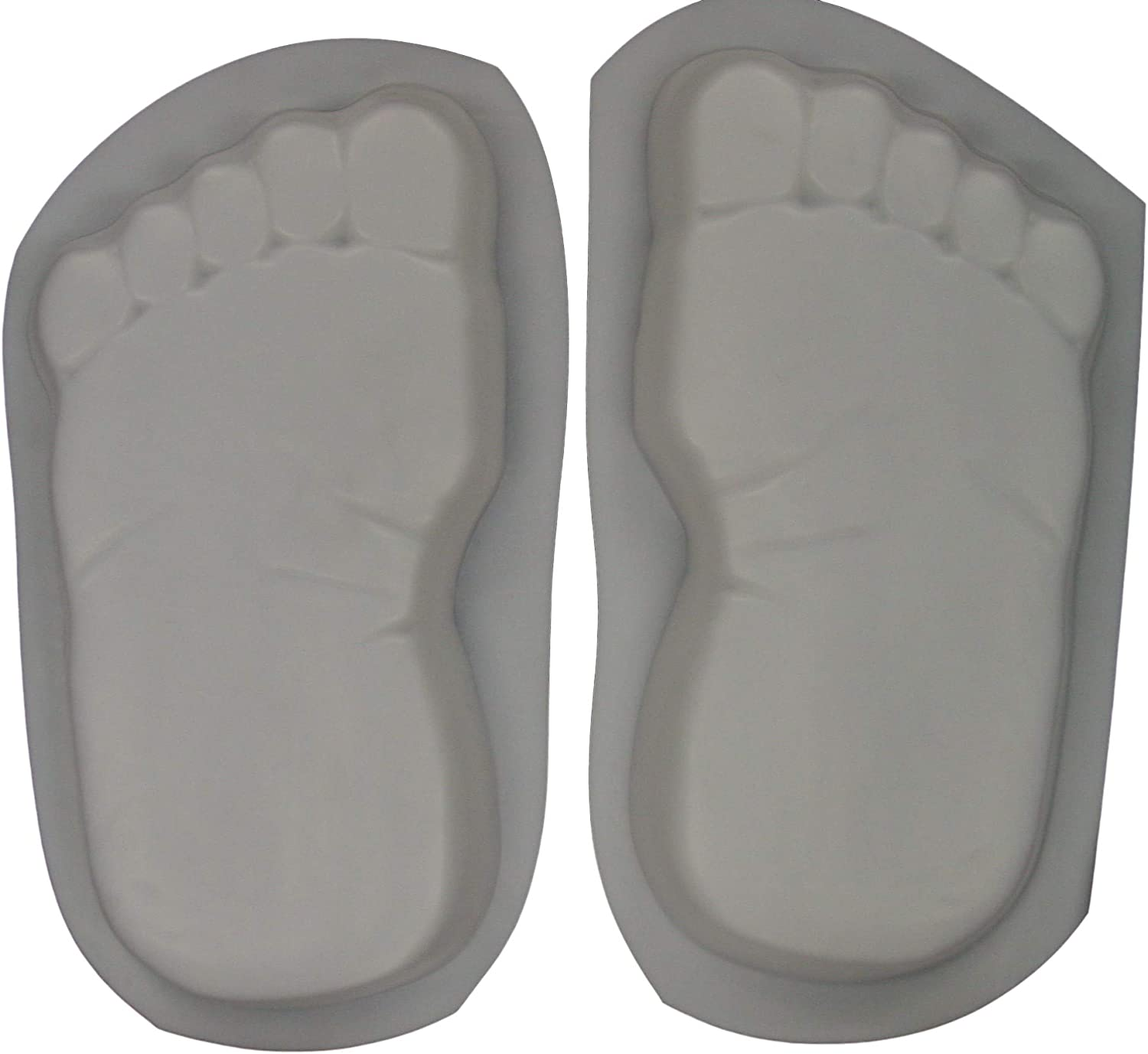 Huge 16 Inch Ultra-Cheap Deals Footprints Bare Feet Stepping Stone S Concrete Mold Super Special SALE held