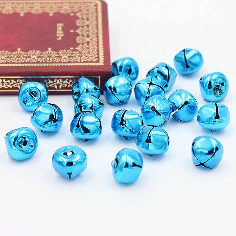 BOICXM Sale price 200Pcs Christmas Jingle Bells Metal Craft Max 61% OFF Colorful