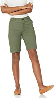 Amazon Essentials Women's 10 Inch Inseam Bermuda Chino Short