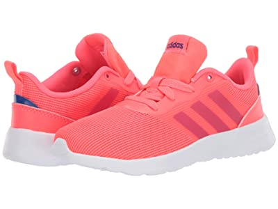 adidas Kids QT Racer 2.0 (Little Kid/Big Kid) (Signal Pink/Power Pink/Team Royal Blue) Girls Shoes