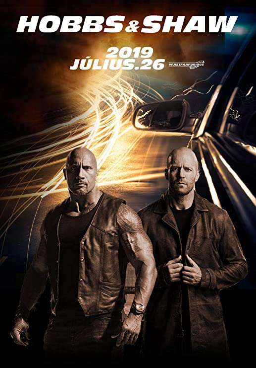Amazon Com Tomorrow Sunny Fast Furious Presents Hobbs Shaw 2019 Movie Poster C Posters Prints
