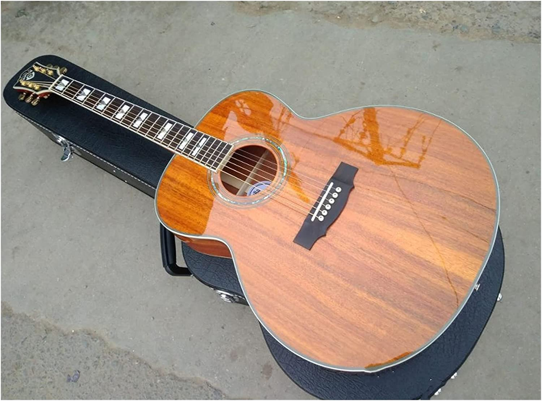 YYYSHOPP Guitarra Guitarra Profesional Acoustic Guitarras F50 Guitarra AAA Guild Guitarras eléctricas acústicas adecuadas para Jugadores en Todas Las etapas (Color : Guitar, Size : 43 Inches)