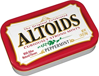 Altoids Peppermint Breath Mints, 50 g, Peppermint