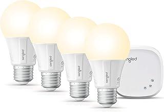 Sengled Alexa Light Bulbs, Smart Bulbs that Work with Alexa, Google Home, Smart Light Bulbs Starter Kit , A19 Dimmable Smart LED Bulbs 60W Equivalent, 800LM Soft White, 4 Smart Bulbs & 1 Smart Hub