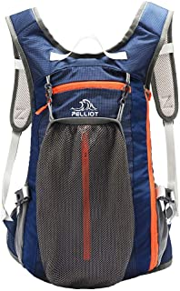 PELLIOT Bike Backpack, 20L Waterproof Cycling Bicycle Rucksack, Breathable Lightweight and Wear-Resisting Running Backpack for Hiking Climbing Camping Skiing Trekking