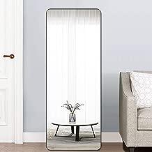 PexFix Rectangular Full Length Mirror Bedroom Floor Mirror Standing or Leaning, 65