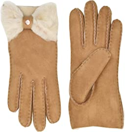 Bow Shorty Water Resistant Sheepskin Gloves