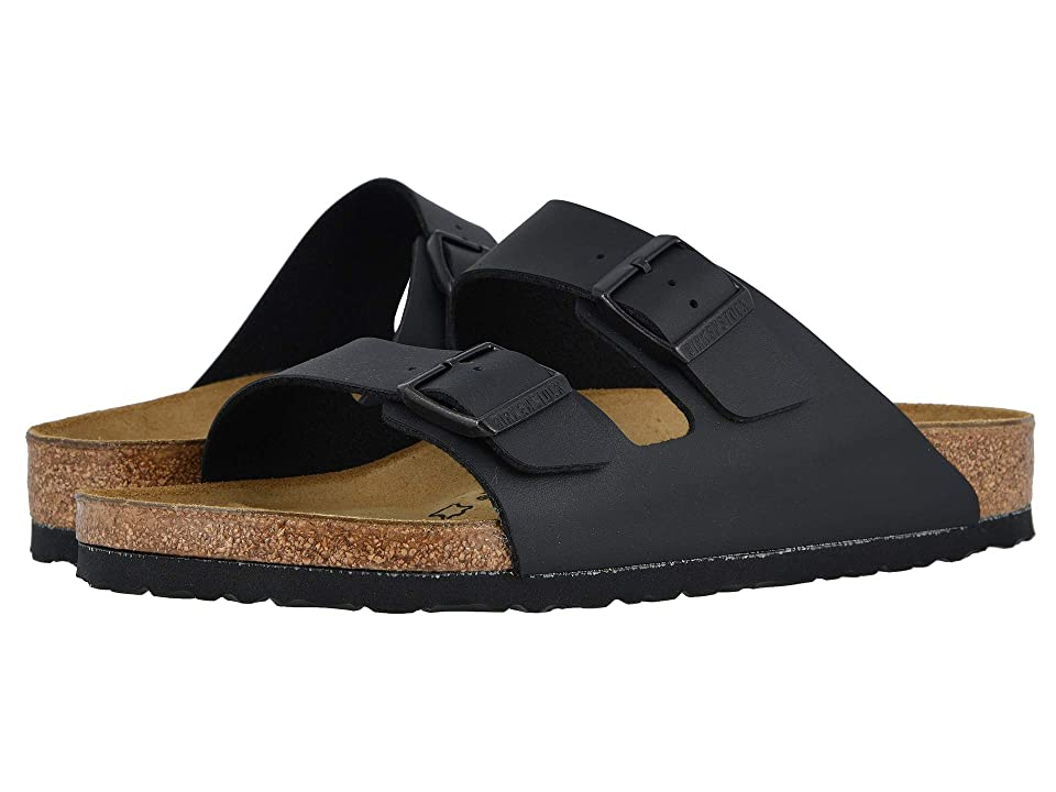 Birkenstock Arizona Birko-Flortm (Black Birko-Flor) Sandals