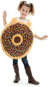 Deluxe Donut Children's Halloween Costume - Funny Food Kids Suit (Medium)