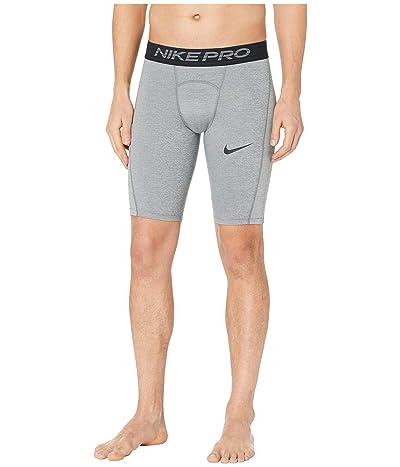 Nike Nike Pro Shorts Long (Smoke Grey/Light Smoke Grey/Black) Men