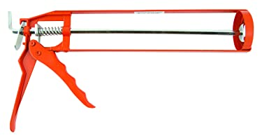 "Red Devil 3987 13"" Skeleton Caulk Gun Thrust Ratio 10:1, Quart"