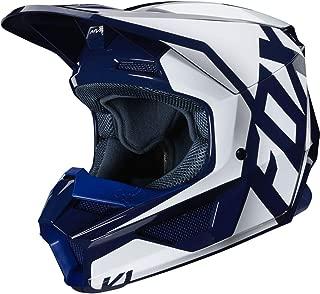 Fox Racing Prix Youth V1 Off-Road Motorcycle Helmet - Navy/Medium