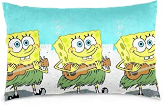 Pillow Cases Spongebob Squarepants Guitar Throw Pillow Cover Pillowcase Cushion Covers for Car Sofa Bed Home Decor 14