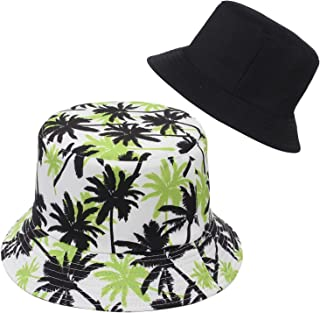 قبعة دلو للجنسين للنساء والرجال والمراهقين والبنات والأولاد قبعة شمس للشاطئ الصيفية