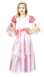 Princess Lea Pink Costume for Girls, 409153/128