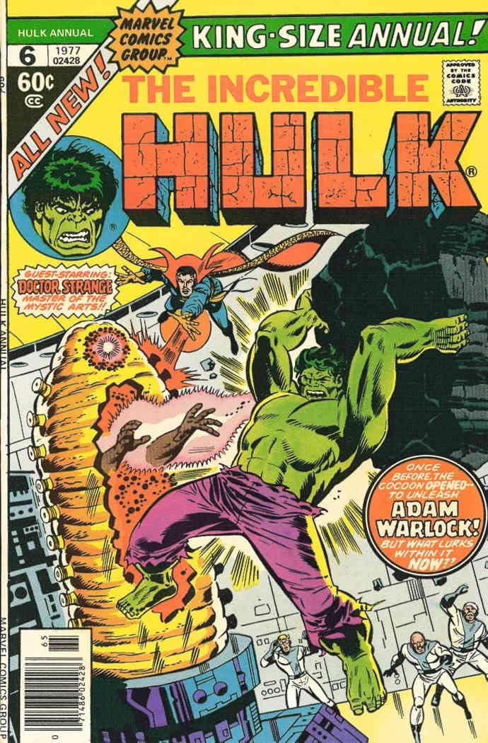 Incredible Hulk The Annual #6 VF comic book NM Marvel ; Houston Mall Manufacturer regenerated product