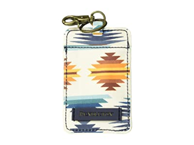 Pendleton Canopy Canvas Luggage Tag (Falcon Cove Sunset) Wallet
