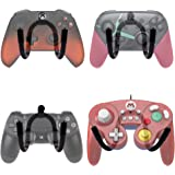 YYST Universal Game Controller Organizer Wall Rack Wall Mount Wall Clip Wall Hanger for Xbox One PS4 Switch Pro Game Controller 4/PK - NO Game Controller - No Falling