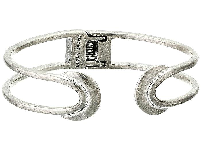 Lucky Brand  Crescent Cuff Bracelet (Silver) Bracelet