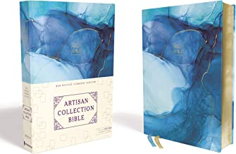 NRSV, Artisan Collection Bible, Cloth over Board, Blue, Art Gilded Edges, Comfort Print