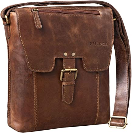 Ordinateur Messager 15 6 Portable Stilord Nicolas Cuir Vintage Sac n0wON8XPk