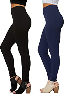 Premium Ultra Soft Leggings in 25 Colors - High Waisted -...
