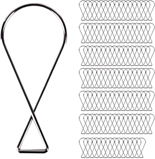 Ceiling Hooks Clips(110 Packed).T-Bar Squeeze Hangers Clips,Drop Ceiling Clips for Office,Classroom,Home and Wedding Decorations.(Fits Drop Ceilings,Suspended Ceilings,Tile Ceiling,and Grid Ceiling)