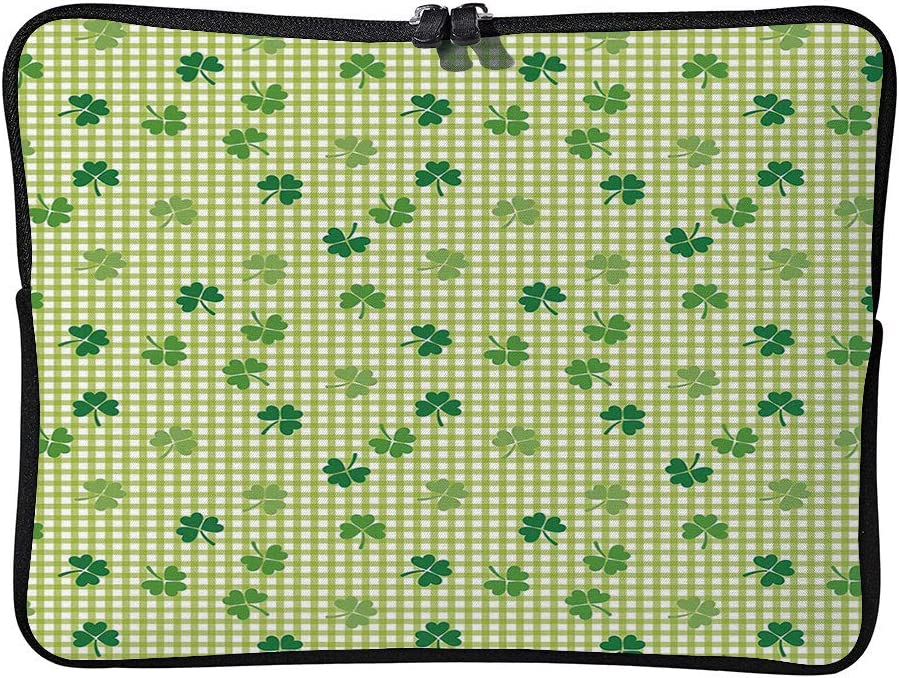 C COABALLA Irish,Vintage Borders in The Form of Celtic Cushion Protective Waterproof Laptop Case Bag Sleeve for Laptop AM018703 17 inch//17.3 inch