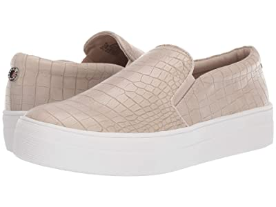Steve Madden Gills Sneaker (Taupe Croco) Women