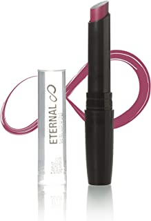 Eternal Long Lasting, Moisturizing Lipstick with Vitamin E – Professional Luxury Collection with Pigments – Creamy, Semi Matte Finish, Longwear, Modern Colors and Shades (Mistery)