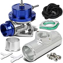 Type-S Style Universal 40mm Turbo Blow Off Valve+2.5 inches Flange Pipe - Blue