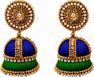 SUBHARPIT Peacock Designe Oxidized Metal Indian Dangle Earring for Woman and Girls