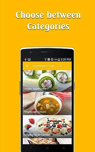 『Vegetarian Food recipes free !!』の4枚目の画像