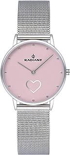 Radiant heart Womens Analog Quartz Watch with Stainless Steel bracelet RA540602